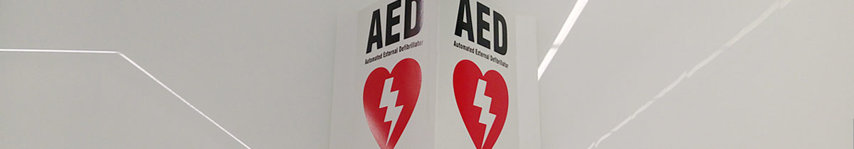 Defibrillators Workplace Sign